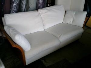 コスガ ソファーの張替え