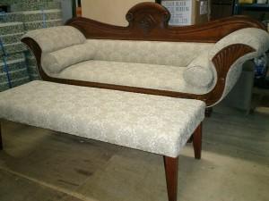 3人掛け ソファーの張替え