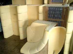 業務用(店舗)ソファーの張替え