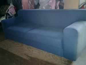 フクラのソファーの張替え