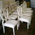 結婚式場 チャペル椅子の座面張替え
