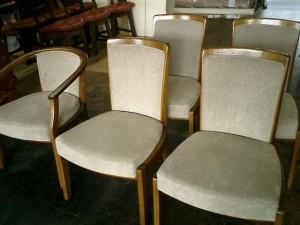 浜本工芸 椅子の張替え