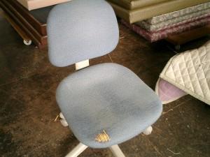 事務椅子の張替え