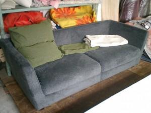 コスガ 3人掛けソファーの張替え
