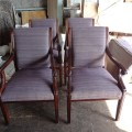 アンティーク調椅子の張替え