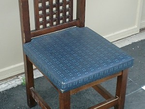 木製椅子の張替え
