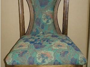 イタリア製椅子の張替え