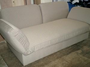 ソファーベットの張替え