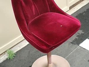 カウンター椅子の張替え