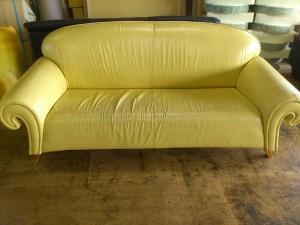 イタリア製 ソファー張替え