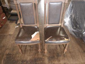 マルニ木工 椅子張替え前