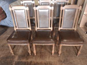 マルニ木工 椅子張替え後